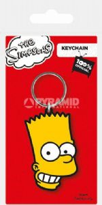 The Simpsons Bart PVC flexible keyring (py)